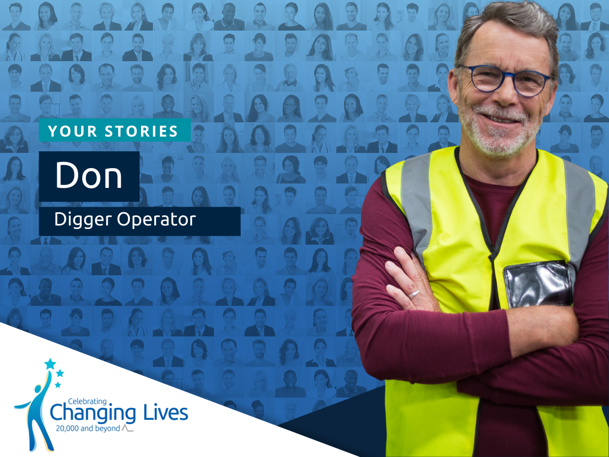 Don's Story - Digger Operator