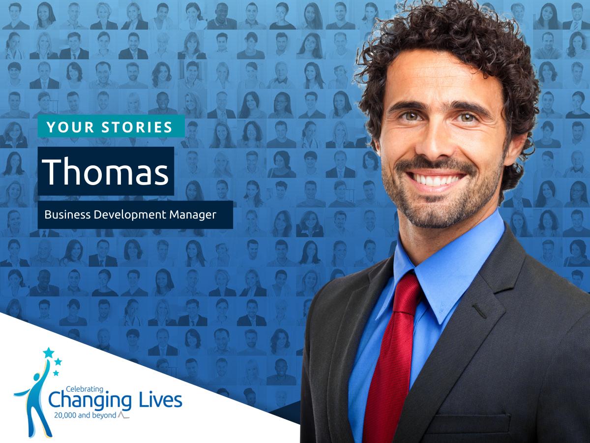 Thomas' Story - Business Development Manager