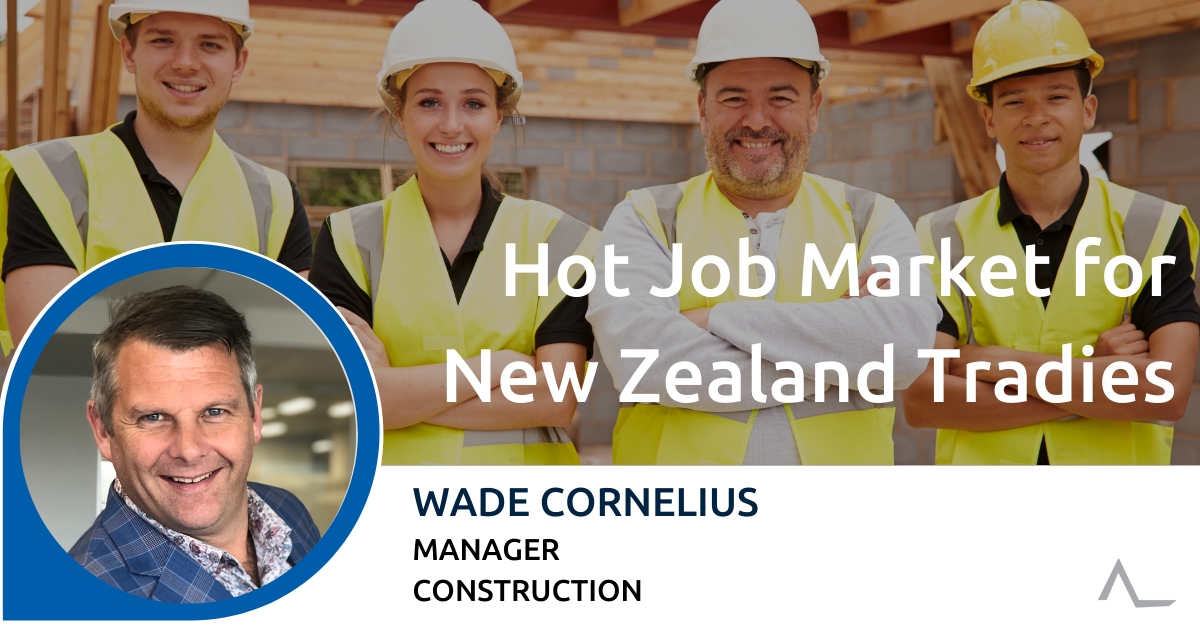 Hot Job Market for New Zealand Tradies